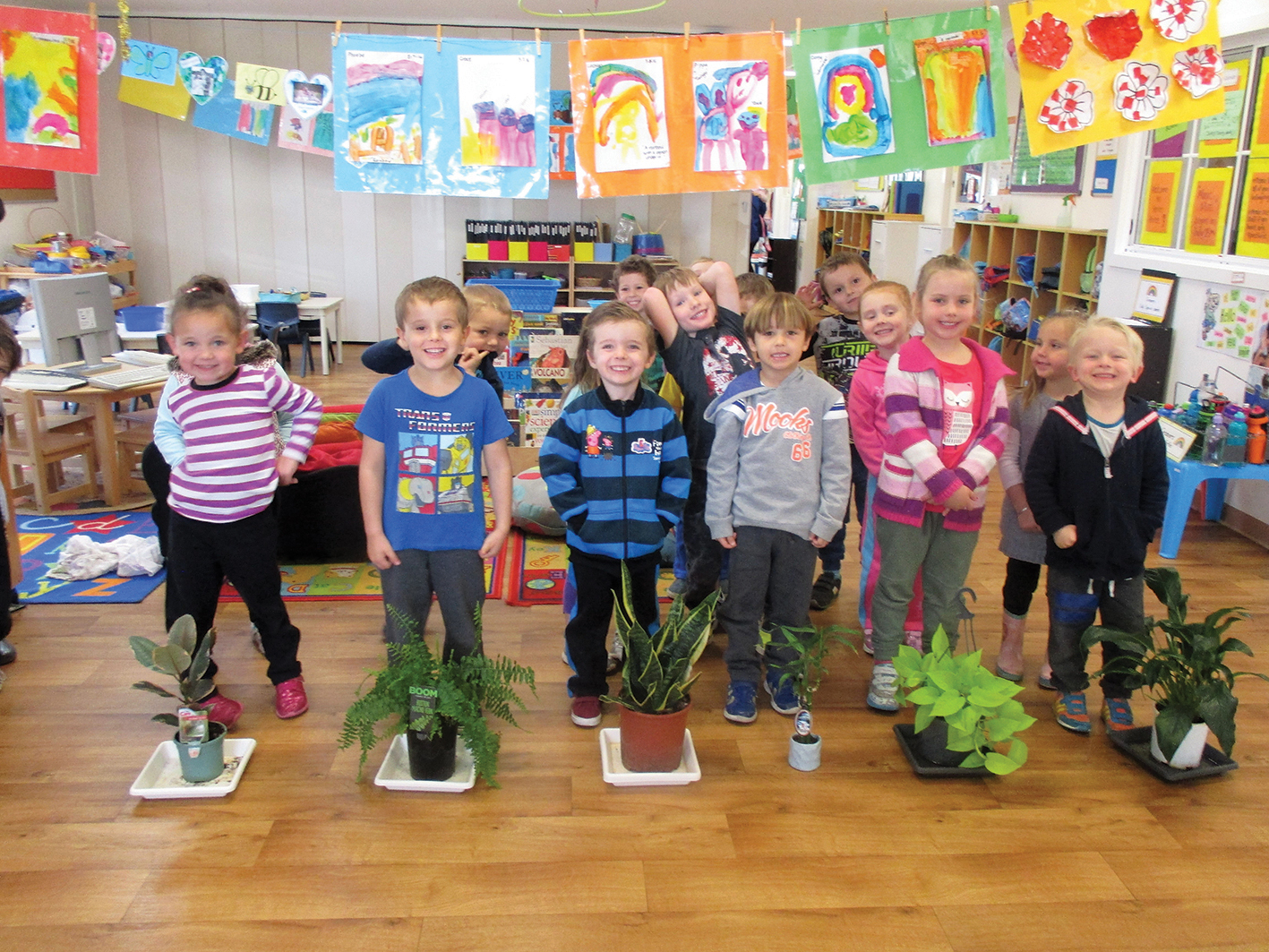 Improving air quality with indoor plants at the Honey Tree Preschool