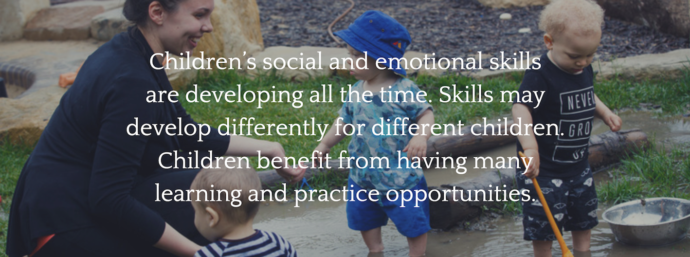 Helping Children Develop Emotional >> Social And Emotional Development The Spoke Early Childhood
