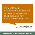 Business benefits from investment in early childhood
